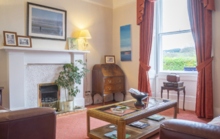 Queensberry House Moffat guest lounge exclusive use