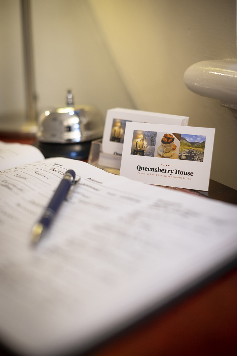 Queensberry House reception