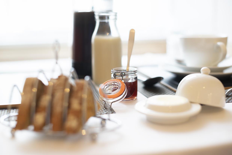 Queensberry House breakfast