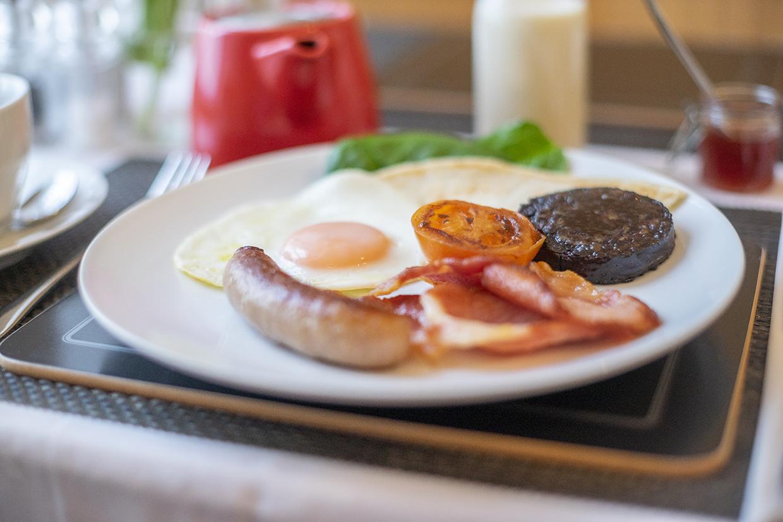 Queensberry House cooked breakfast