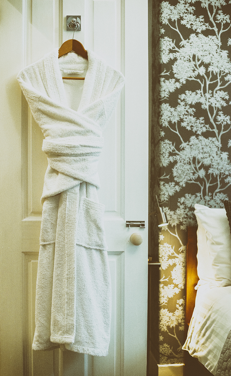 Queensberry House bathrobes in room