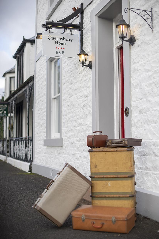 Queensberry House front door entrance