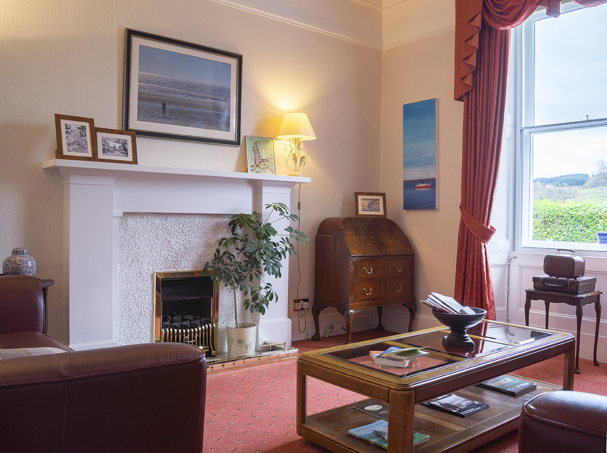 Queensberry House guest lounge