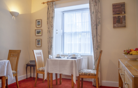 Queensberry House dining room breakfast