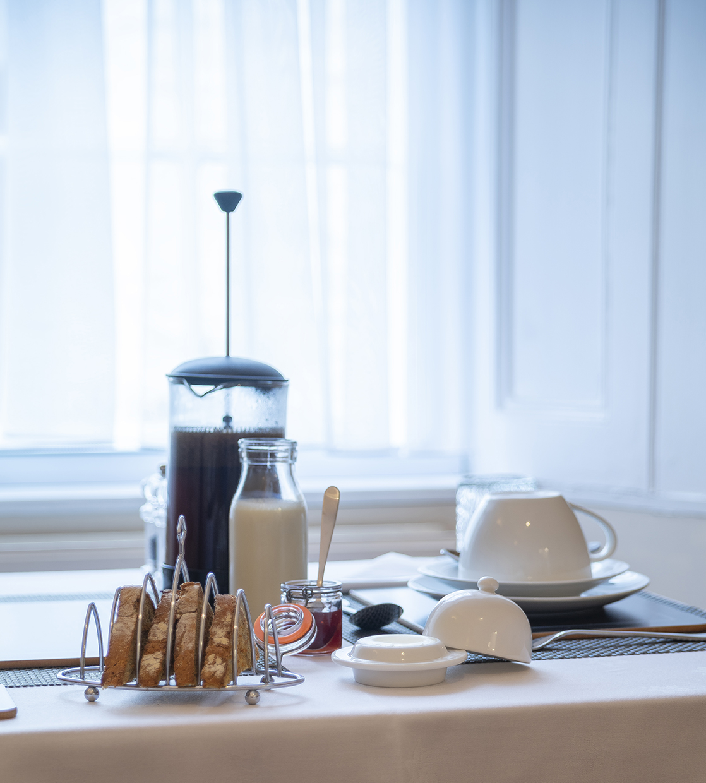 Queensberry House dining room breakfast
