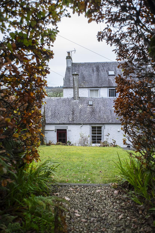 Queensberry House Moffat garden