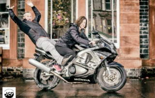 Motorcycle friendly accommodation at Queensberry House Moffat